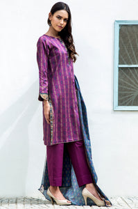 Stitched 3 Piece Digital Printed Cambric Suit
