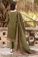 Load image into Gallery viewer, Stitched 3 Piece Printed Khaddar Suit