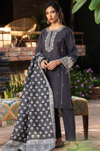 Load image into Gallery viewer, Stitched 3 Piece Embroidered Khaddar Suit