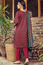 Load image into Gallery viewer, Stitched 3 Piece Printed Cottel Suit