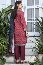 Load image into Gallery viewer, Stitched 3 Piece Printed Karandi Suit