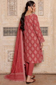 Stitched 3 Piece Dyed Jacquard Suit