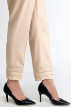 Load image into Gallery viewer, Embroidered Cigarette Pants - Beige