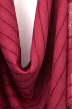 Load image into Gallery viewer, Solid Woven Scarf - Burgundy