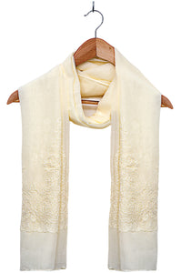 Solid-Embroidered-Scarf-Offwhite