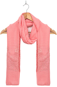 Solid-Embroidered-Scarf-Rose