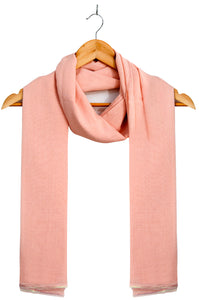 Silky Lace Trimmed Scarf
