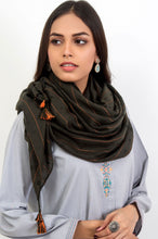 Load image into Gallery viewer, Stripe Affair Scarf - Green