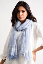 Load image into Gallery viewer, Woven Stripes Scarf