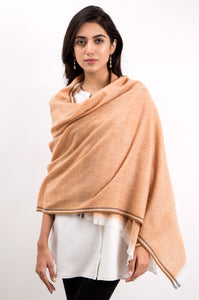 Woven Trimmed Shawl