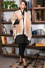 Load image into Gallery viewer, Dual Tone Cape Shawl