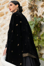 Load image into Gallery viewer, Embroidered Velvet Shawl