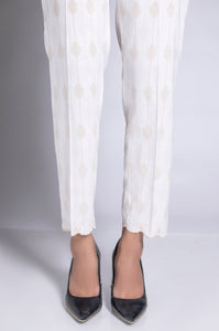 Gold Paste Embellished Cigarette Pant