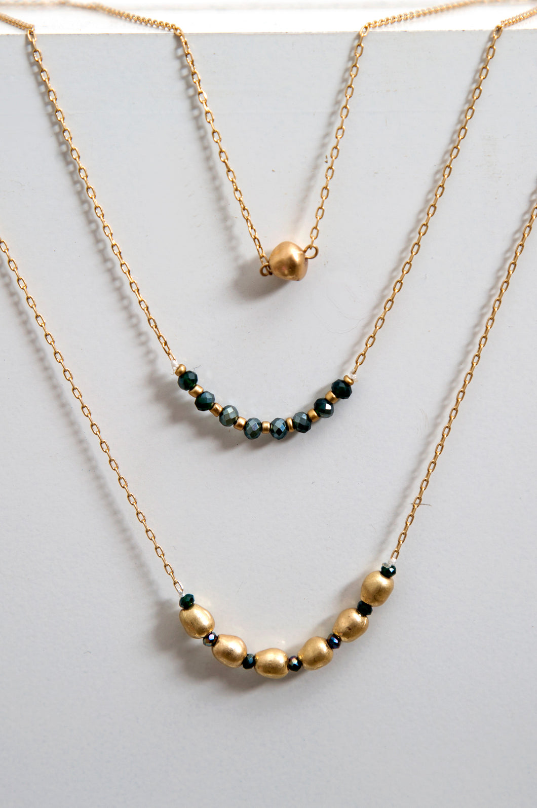 Layer Beaded Necklace