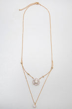 Load image into Gallery viewer, Pearl Halo Double Necklace