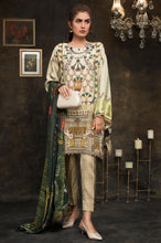 Load image into Gallery viewer, 2 Piece Printed Unstitched Suit-Fabric: Crepe Silk Viscose