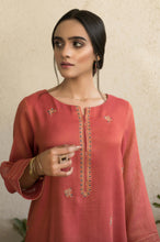 Load image into Gallery viewer, Stitched 1 Piece Embroidered Mysori Net Shirt