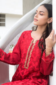 Stitched 1 Piece Jacquard Embroidered Suit