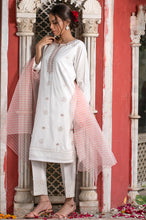 Load image into Gallery viewer, Stitched 2 Piece Embroidered Cotton Silk Suit