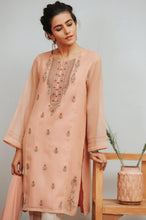 Load image into Gallery viewer, Stitched 2 Piece Karandi Maysori Embroidered Suit