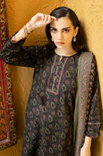 Load image into Gallery viewer, Unstitched 3 Piece Printed Khaddar Suit