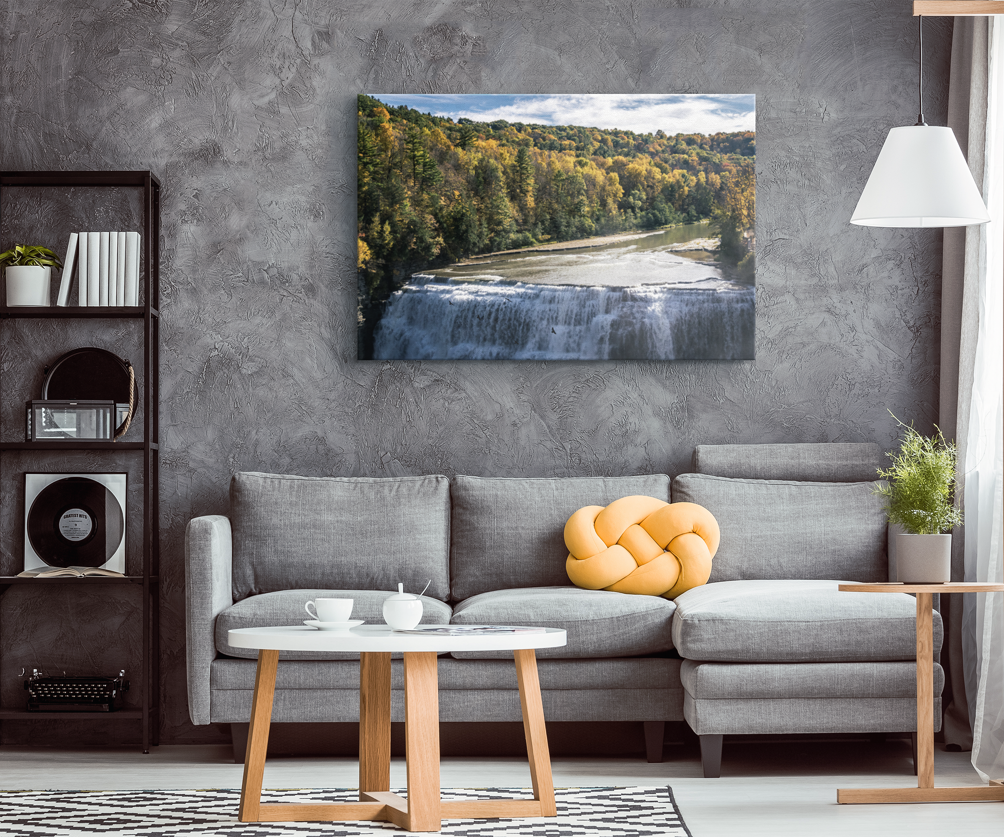 """Autumn In Letchworth"" Canvas Wrap"