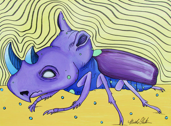 Rhino Beetle by Nicole Christman