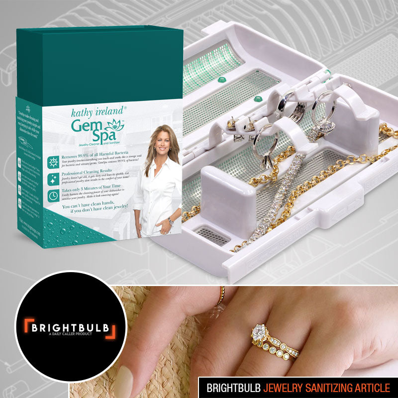 Keep Your Jewelry Clean And Bacteria Free With The Kathy Ireland GemSpa