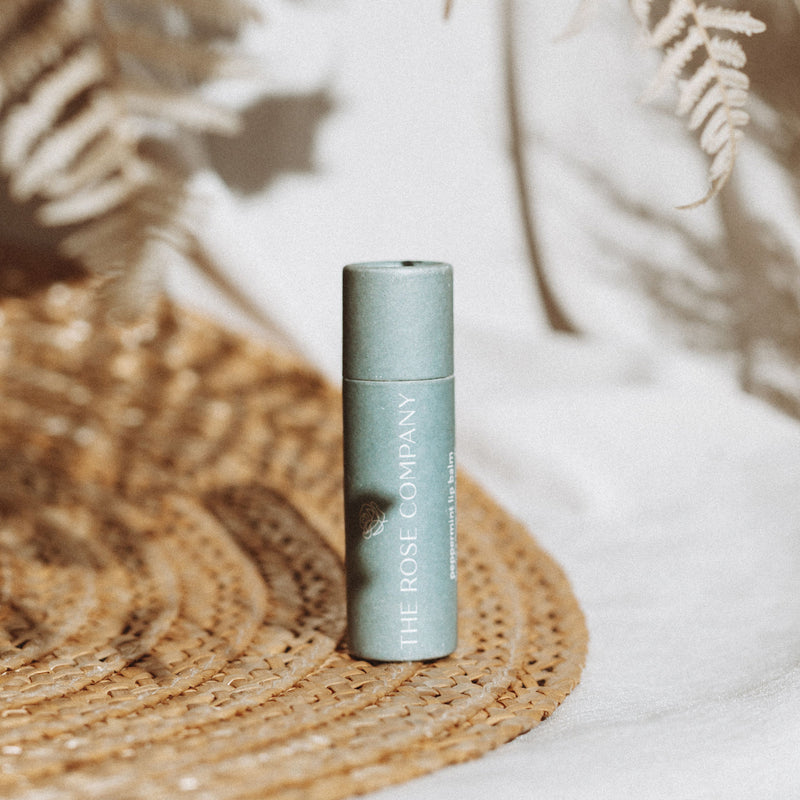 The Rose Company Peppermint Lip Balm