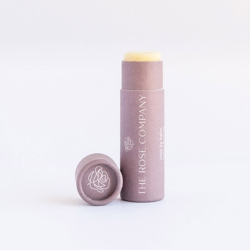 The Rose Company Vegan Lip Balm, Rose
