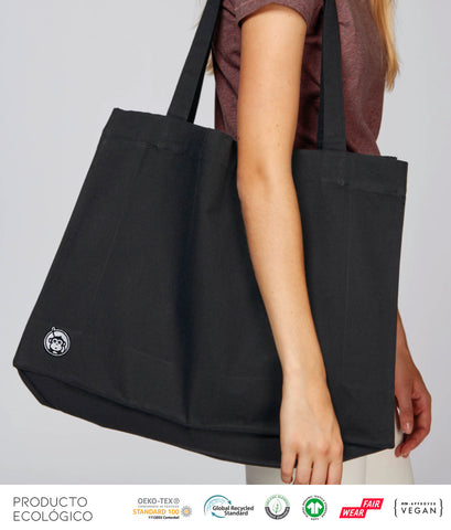 BOLSA ASA LARGA BASIC /// Black