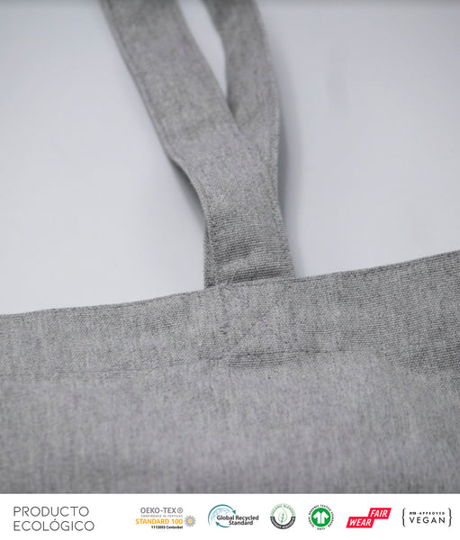 BOLSA ASA LARGA BASIC /// Heather Grey OS