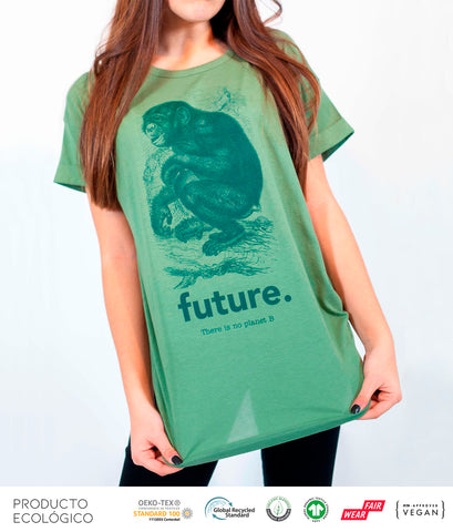 CAMISETA ANIMAL FUTURE MUJER /// SoftOlive
