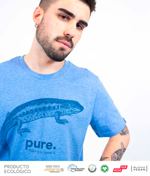 CAMISETA ANIMAL PURE /// HeatherBlue
