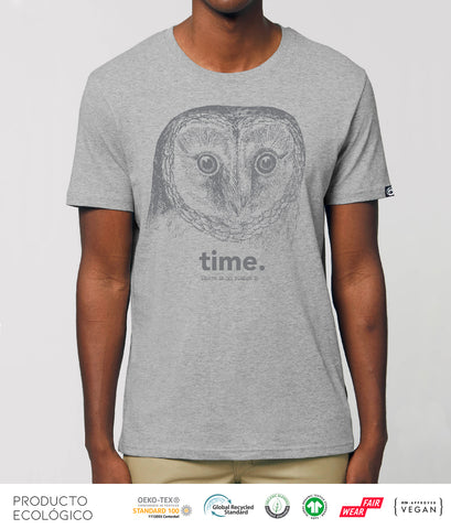 CAMISETA ANIMAL TIME UNISEX /// HeatherGrey