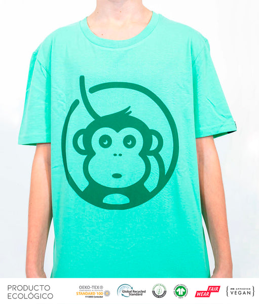 CAMISETA ICONIC UNISEX /// ChamaleonGreen