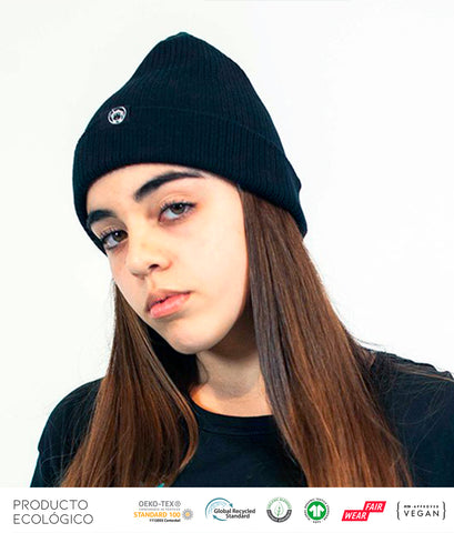 GORRO LANA BASIC /// Black