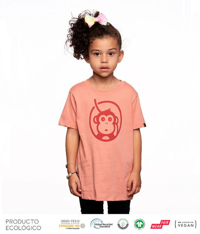 CAMISETA ICONIC NIÑO /// Rose Clay