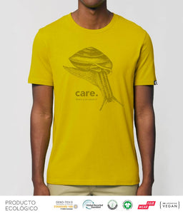 CAMISETA ANIMAL CARE UNISEX /// HayYellow