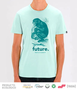 CAMISETA ANIMAL FUTURE UNISEX /// CaribeanBlue