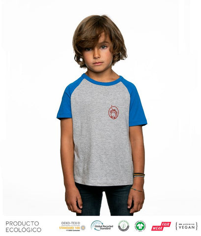 CAMISETA BASEBALL ICONIC NIÑO /// Royal Grey