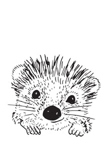 Wall artwork, Pip the Hedgehog