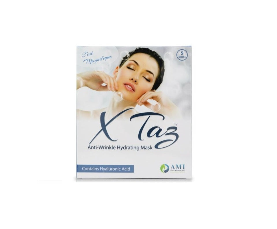 Xtaz Hydrating Mask with Hyaluronic Acid - Box of 5 Retail