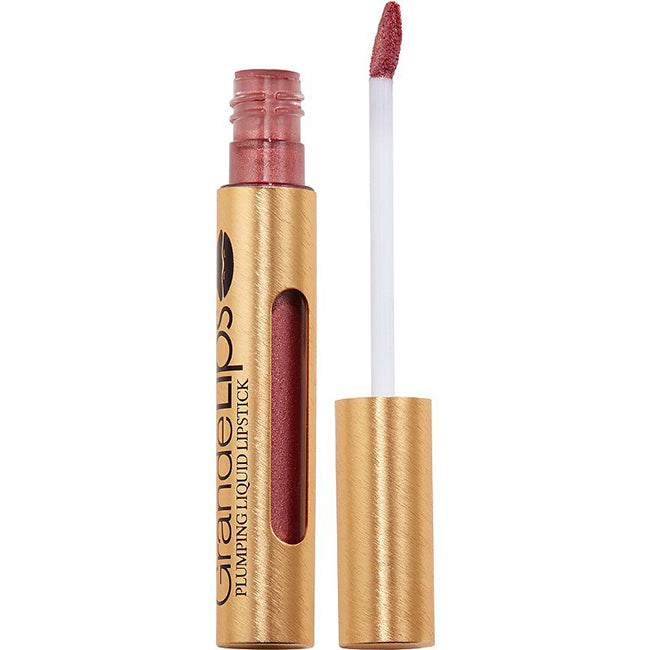 GrandeLips HydraPlump Liquid Lipstick | Semi Matte | Metallic Retail
