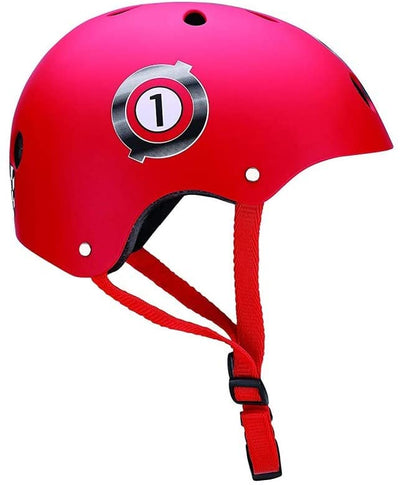 Casco junior racing rojo - Petit Abú
