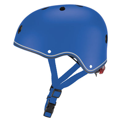 Casco junior primo lights navy azul - Petit Abú