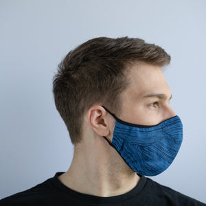 Prime Knit Face Mask - Azure Blue