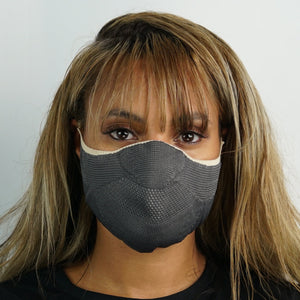 Face Mask - Caramel Grey