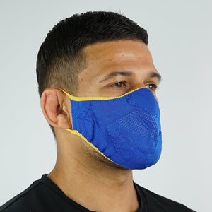 Face Mask - Cyber Blue