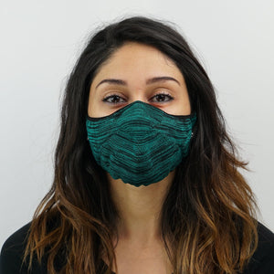 Prime Knit Face Mask - Jaded Black